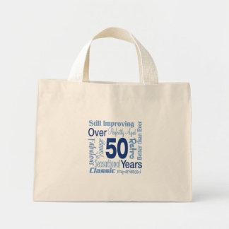 第50誕生日50年のに ミニトートバッグ
