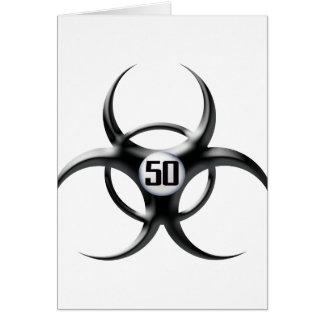 第50誕生日 カード
