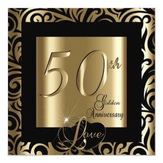 第50金結婚記念日 カード
