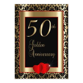 第50金結婚記念日| DIYの文字 カード