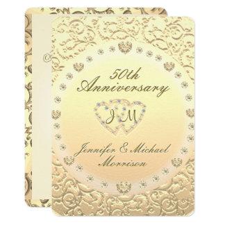 第50金記念日 カード