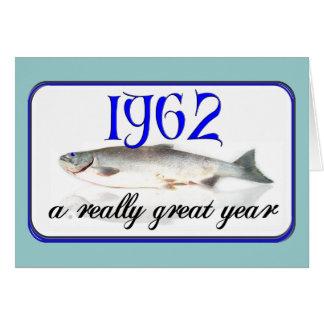 第50 Birthday 1962年 カード