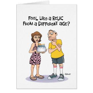 第52誕生日のおもしろいな男性の挨拶 カード