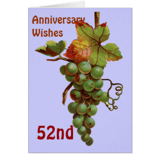 第52 customiseable記念日の願い カード