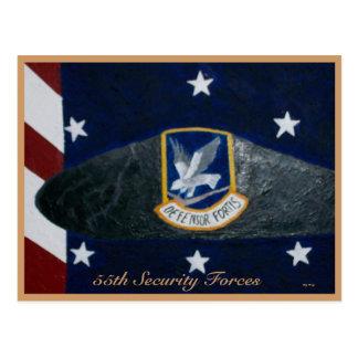 第55保安部隊 ポストカード