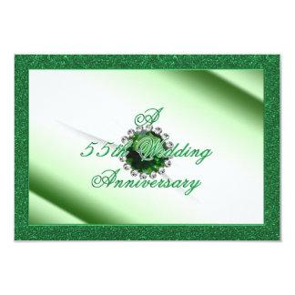 第55結婚記念日RSVP カード