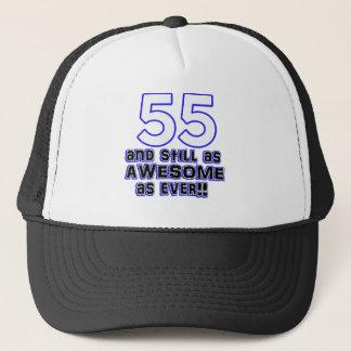 第55誕生日のデザイン キャップ
