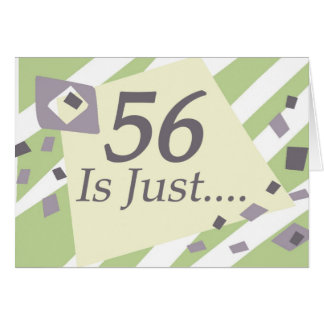 第56誕生日 カード