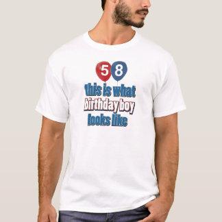 第58歳のデザイン Tシャツ