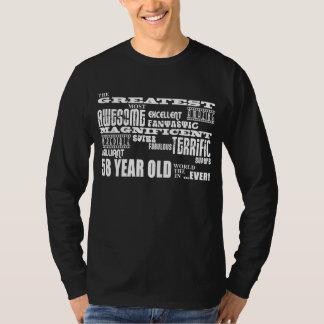 第58誕生会のすばらしい58歳 Tシャツ