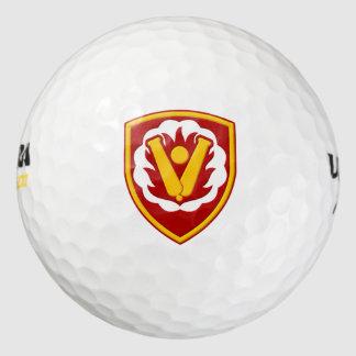 第59兵器の組パッチ ゴルフボール