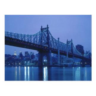 第59通り橋、ニューヨーク、米国 ポストカード
