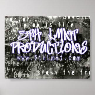 第5 Lmnt Graffitti ポスター