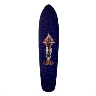 第6次元のロケットの船のスケートボードのデッキ スケートボード