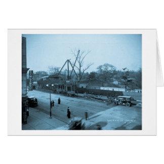 第6道及び第59通りの眺めセントラル・パークNYC カード