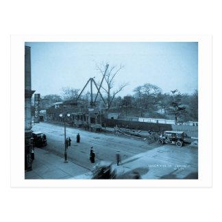 第6道及び第59通りの眺めセントラル・パークNYC ポストカード