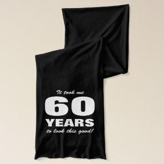 第60おもしろいな引用文の誕生日のスカーフ スカーフ