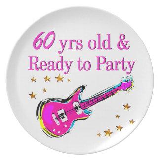 第60ロックスター パーティー皿