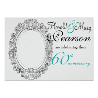 第60結婚記念日の招待 カード