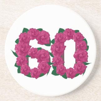 第60花柄 コースター