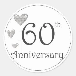 第60記念日 ラウンドシール