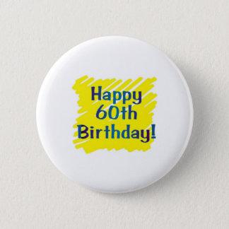 第60誕生会 5.7CM 丸型バッジ