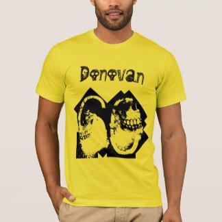 第60誕生日のゴシックのスカル数および文字V09 Tシャツ