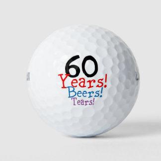 第60誕生日 ゴルフボール