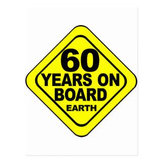 第60誕生日 ポストカード