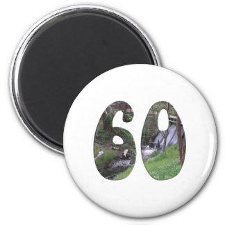 第60誕生日 冷蔵庫用マグネット