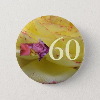 第60誕生日 缶バッジ