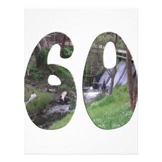 第60誕生日 21.6CM X 27.9CM チラシ