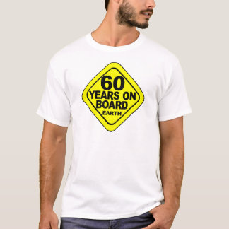 第60誕生日 Tシャツ