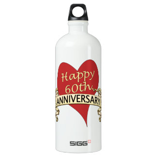 第60。 記念日 ウォーターボトル