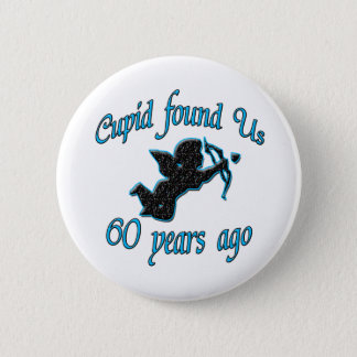 第60。 記念日 缶バッジ