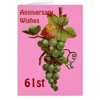第61 customiseable記念日の願い カード