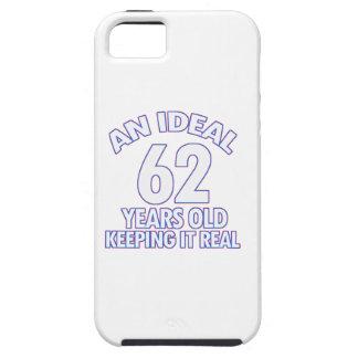 第62誕生日のデザイン iPhone SE/5/5s ケース
