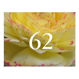 第62誕生日 ポストカード