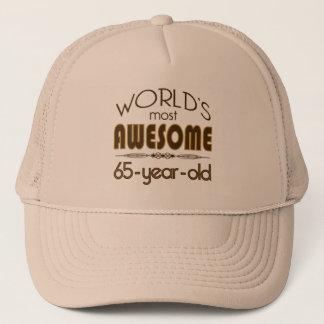 第65ブラウンの誕生祝いの世界のベスト キャップ