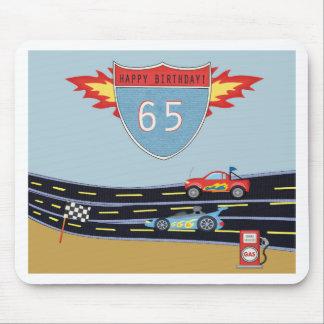 第65誕生日の市販車の競争のテーマ マウスパッド