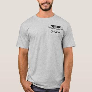 第67 FSの淡色のカスタムな懇親会のワイシャツ- Tシャツ