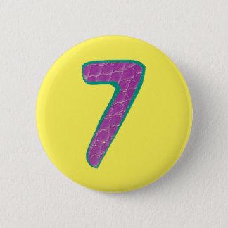 第7ボタン 缶バッジ