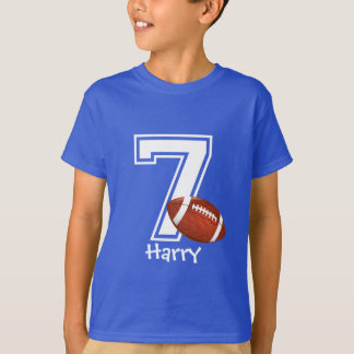 第7名前入りな3誕生日の男の子 Tシャツ