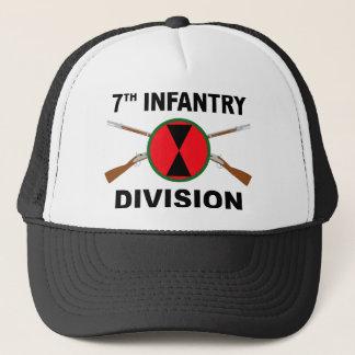 第7歩兵部隊-交差させたライフル キャップ