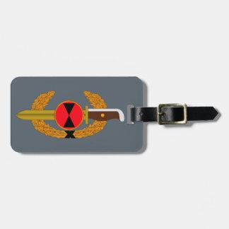 第7歩兵部隊-銃剣の順序 ラゲッジタグ