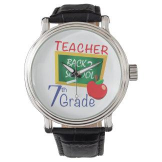 第7等級の先生 腕時計