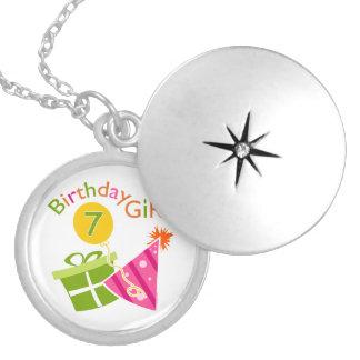 第7誕生日-誕生日の女の子 ロケットネックレス