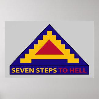 第7軍隊-地獄への7つのステップ-ポスター ポスター