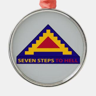 第7軍隊-地獄への7つのステップ メタルオーナメント