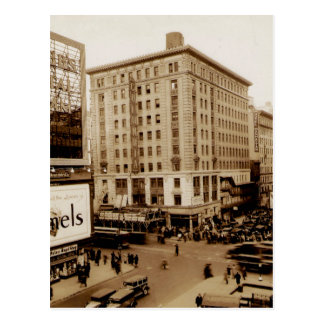 第7道および第47通りニューヨークシティ ポストカード